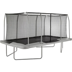 Upper Bounce Easy Assemble Mega 9' X 15' Rectangular Trampoline, with Fiber Flex Enclosure System