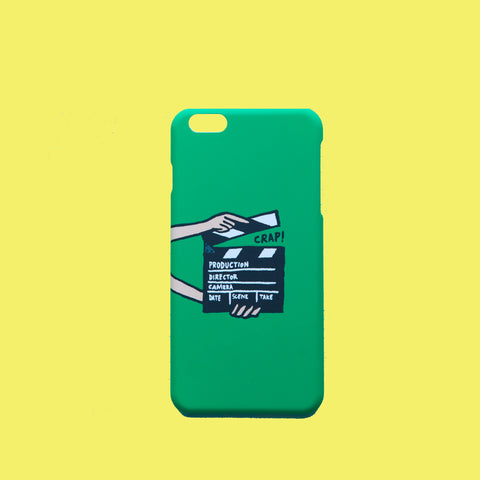 iPhone Case for Directors - Green/Black - brownieflash