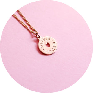 HEART OF HEARTS - custom name necklace or pendant