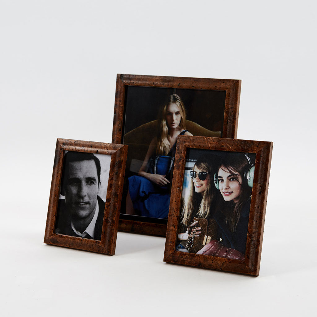 Polo Walnut Burl Picture Frame-1
