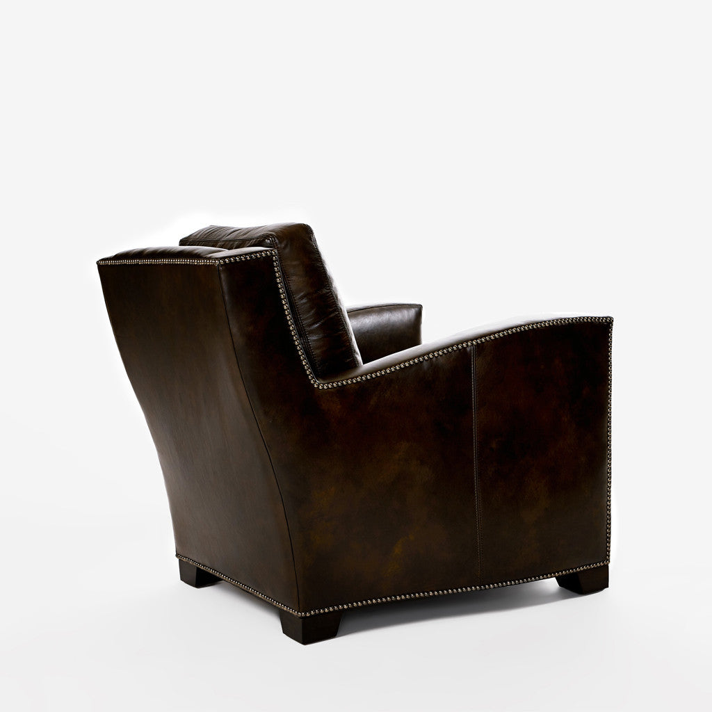Evan Leather Lounge Chair-3