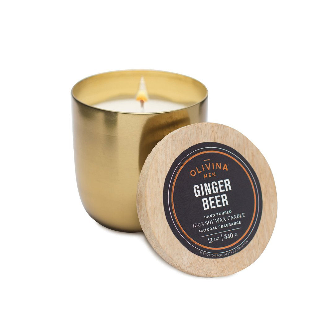 Soy Wax Candle- Ginger Beer