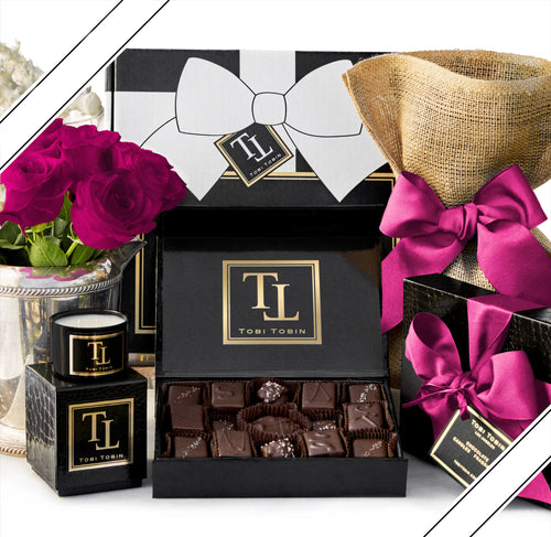No. 2 Essential Comfort Box - Tobi Tobin | Luxury Candles, Chocolates and Fragrances | Los Angeles