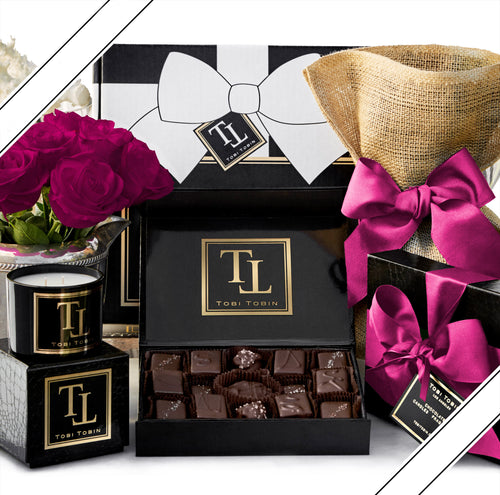 No. 3 Essential Comfort Box - Tobi Tobin | Luxury Candles, Chocolates and Fragrances | Los Angeles