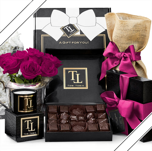 No. 4 Essential Comfort Box - Tobi Tobin | Luxury Candles, Chocolates and Fragrances | Los Angeles