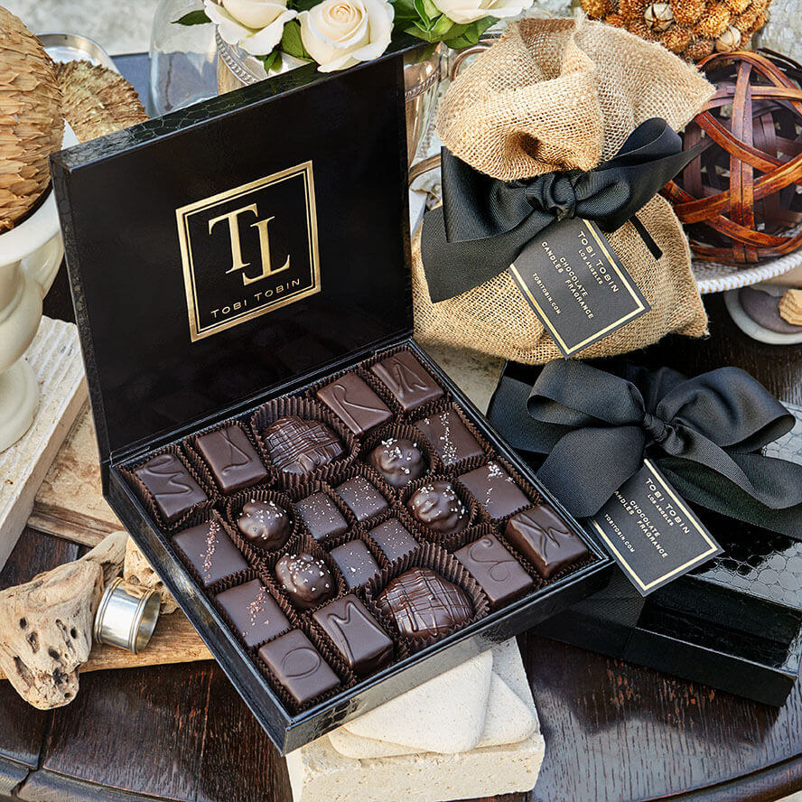 GRANDE BOX CHOCOLATE - Tobi Tobin | Luxury Candles, Chocolates and Fragrances | Los Angeles