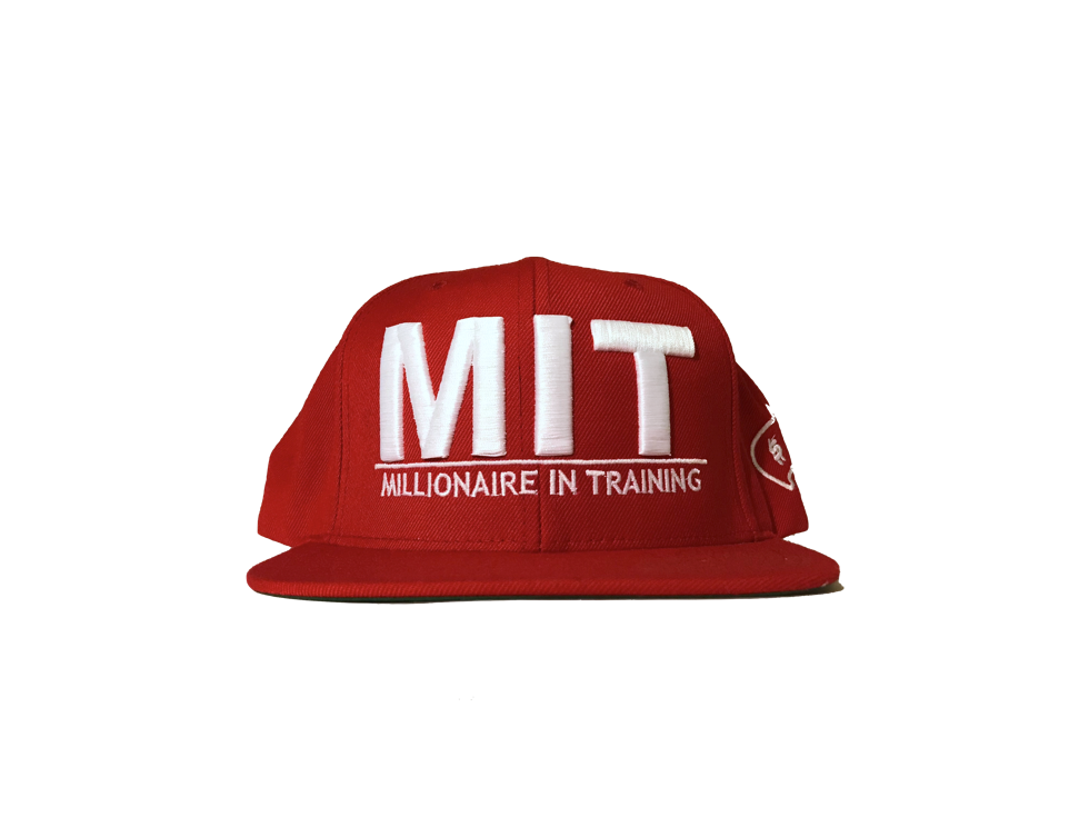 MIT Snapback Hat (Red)
