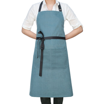 Light Blue Chef's Kitchen Apron