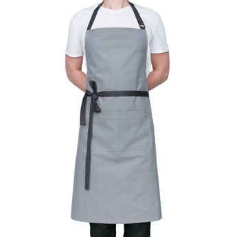 Men's Apron - Light Gray