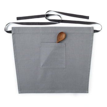 Light Gray Waist Apron