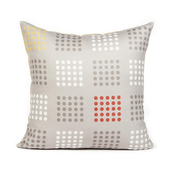 Dotti Orange Throw Pillow