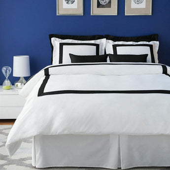 LaCozi Hotel Collection Black Duvet Cover Set