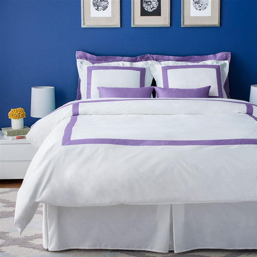 LaCozi Hotel Collection Duvet Cover Set - Lavender