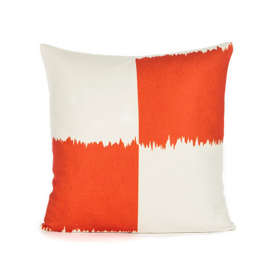 Orange Mousse Throw Pillow