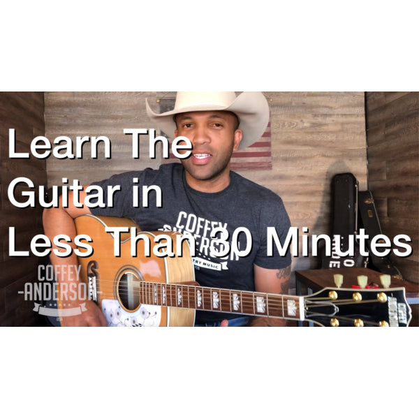 Learn Guitar in Less than 30 Minutes