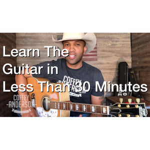 Easy to Learn Guitar with Coffey Anderson