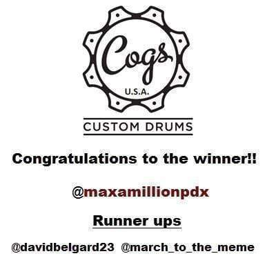 Contest Winner!! Congrats!!
