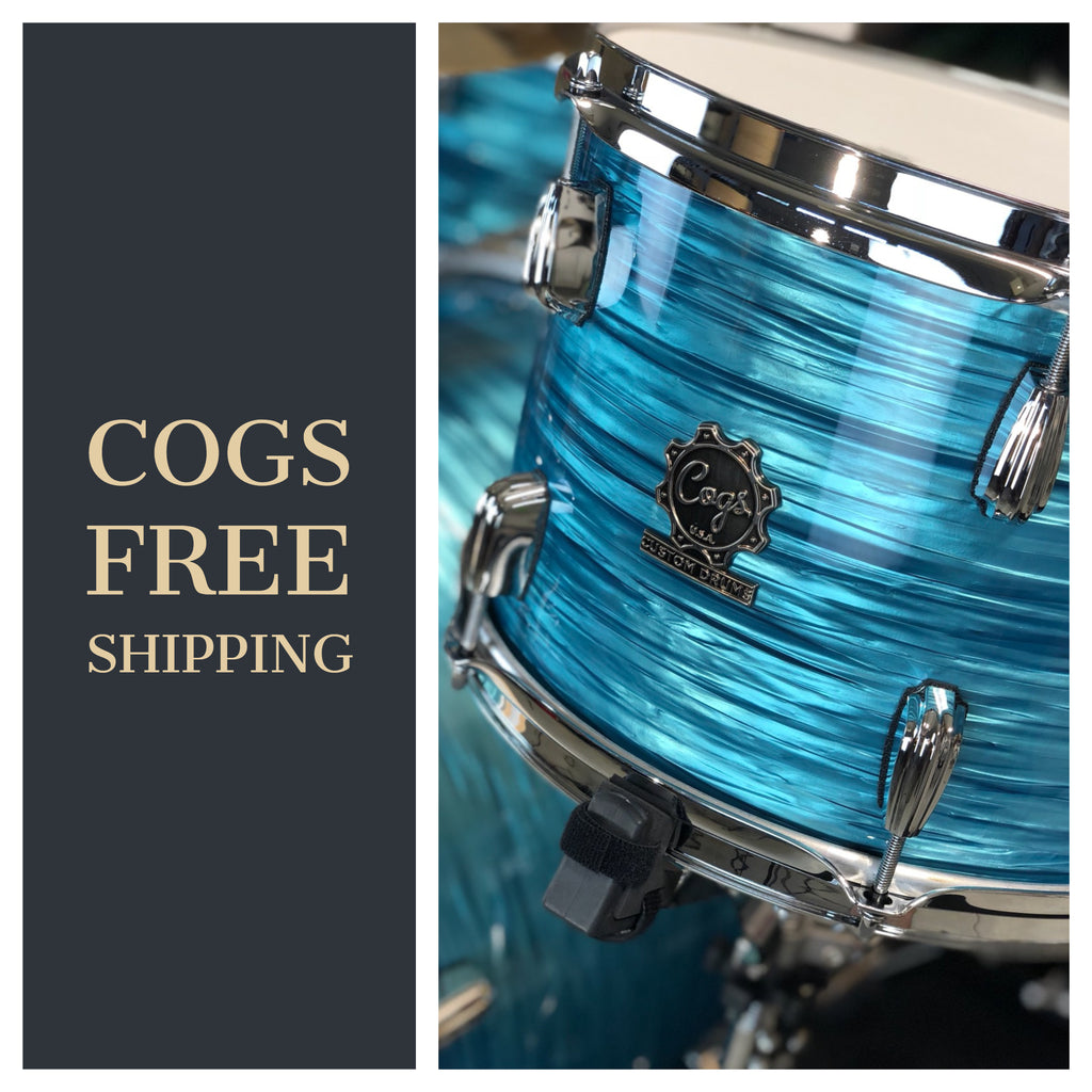 Cogs Custom Drums Free Shipping