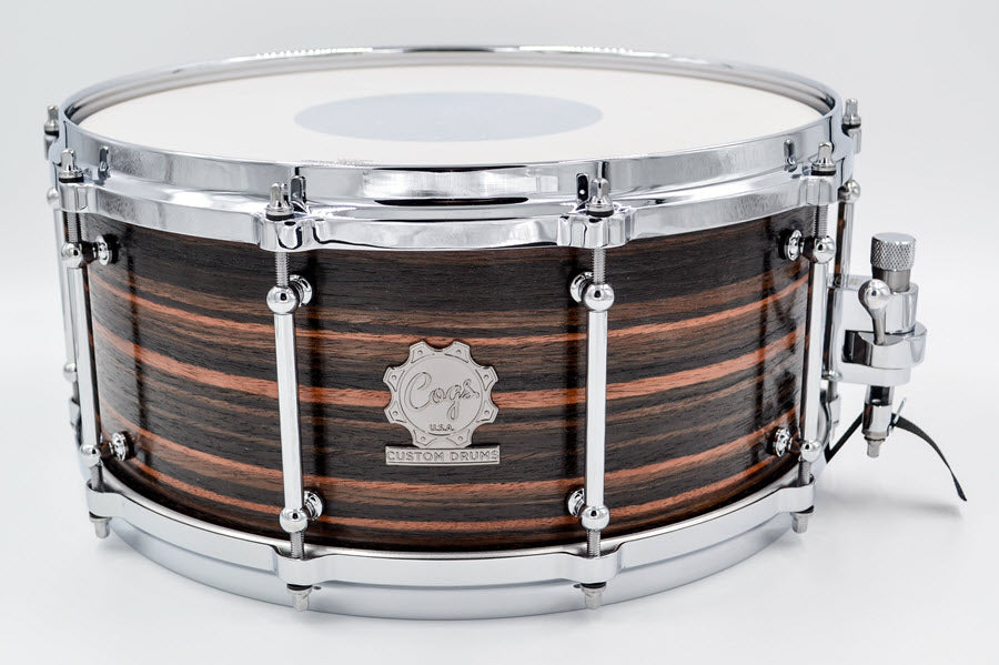 Cogs SuperSix™ Ebony Maple Snare
