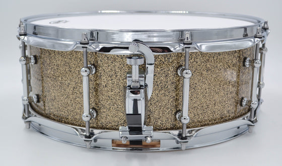 Cogs SuperSix™ Sand Maple Snare Drum - Cogs Custom Drums