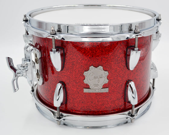 Cogs Red Glass Glitter Demo Kit - Cogs Custom Drums