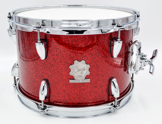 Cogs Red Glass Glitter Demo Kit - Cogs Custom Drums LLC
