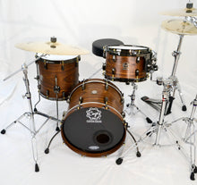 Walnut Drum Set - Cogs Custom Drums LLC