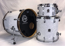 White Pearl 3 Piece Drum Kit - Cogs Custom Drums LLC