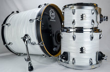 White Strata 3 Piece Drum Kit - Cogs Custom Drums LLC