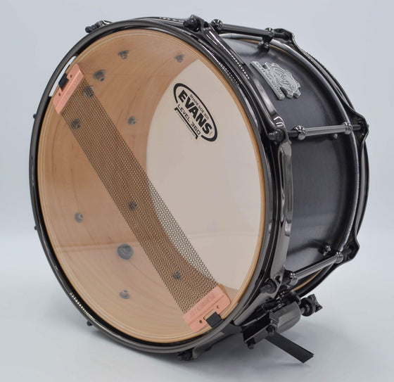 Cogs Blackout Pocket Snare - Cogs Custom Drums