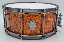 Cogs MC-63 Copper Pearl Snare Drum - Cogs Custom Drums