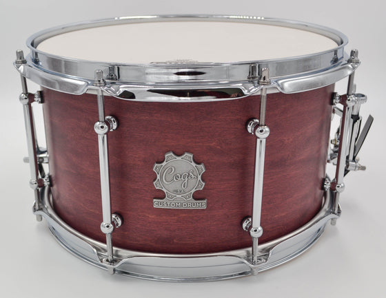 Cogs Pocket Snare Drums 12x7 - Cogs Custom Drums