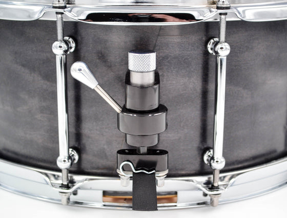Cogs SuperSix™ Black Maple Snare - Cogs Custom Drums