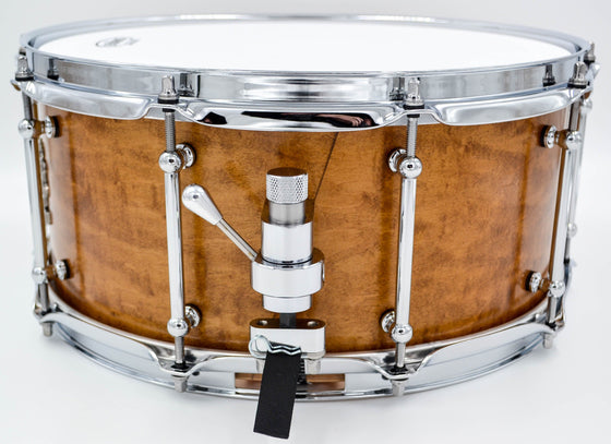 Cogs SuperSix™ Vintage Maple Snare - Cogs Custom Drums LLC