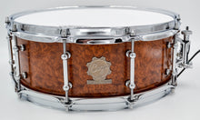 SuperSix™ Carpathian Burl Maple Snare Drum - Cogs Custom Drums LLC