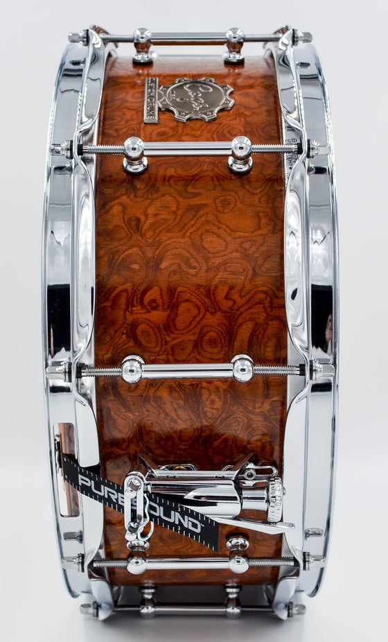 SuperSix™ Carpathian Burl Maple Snare Drum - Cogs Custom Drums