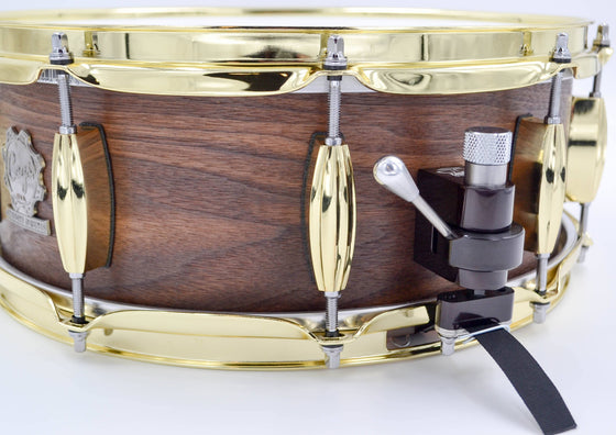 Walnut Snare - 14 x 5.5 - Cogs Custom Drums