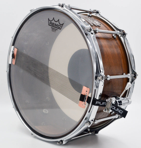 Walnut Snare - 14 X 6.5 - Cogs Custom Drums