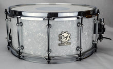 White Pearl Snare - 14 X 6.5 - Cogs Custom Drums LLC