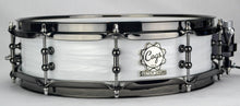 White Strata Piccolo - 14 X 4 - Cogs Custom Drums LLC