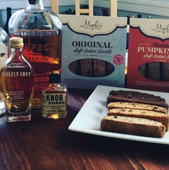 Bourbon or Wine? Don't Choose, Have Both (with a soft-baked biscotti).