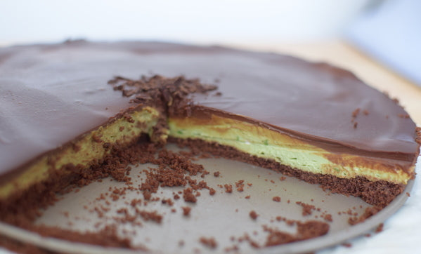 Chocolate Avocado Mousse Tart