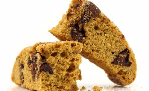 Our Chocolate Pumpkin Pie Soft-Baked Biscotti is back!