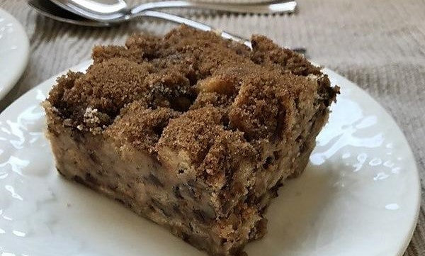 Coffee Cake Bread Pudding