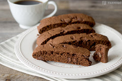 choco chip brownie soft-baked biscotti