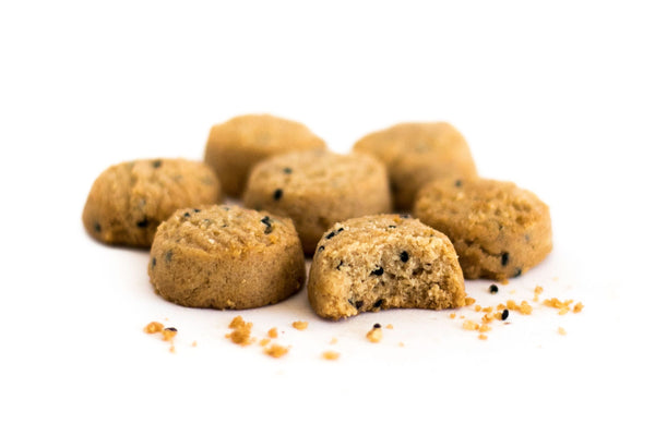 SESAME TAHINI TEA COOKIES
