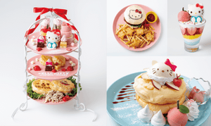 Hello Kitty Celebrates its 45th Anniversary with EGG & SPUMA!