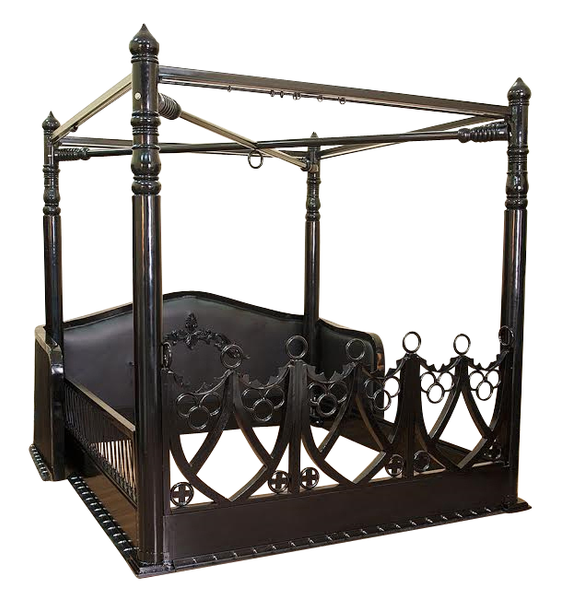 Obey - Surrender BDSM Queen Bed. CURRENTLY UNAVAILABLE