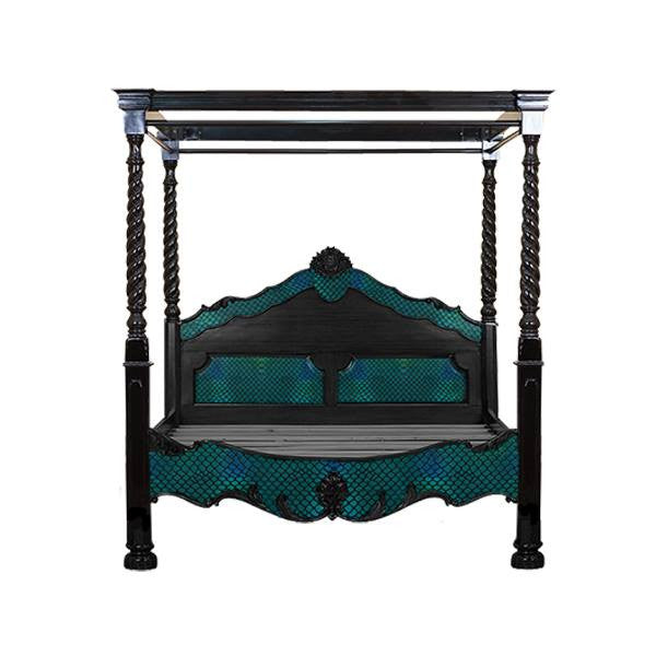 Odyessey Queen Bed with Canopy