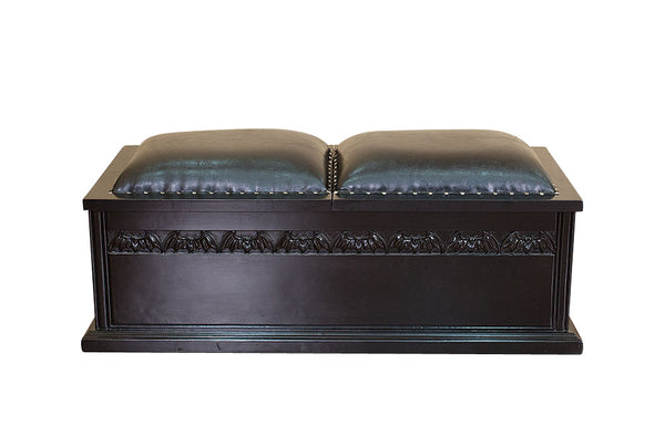 Raised by Bats Coffin Blanket Box
